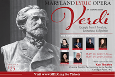An Evening of Verdi - May 2019