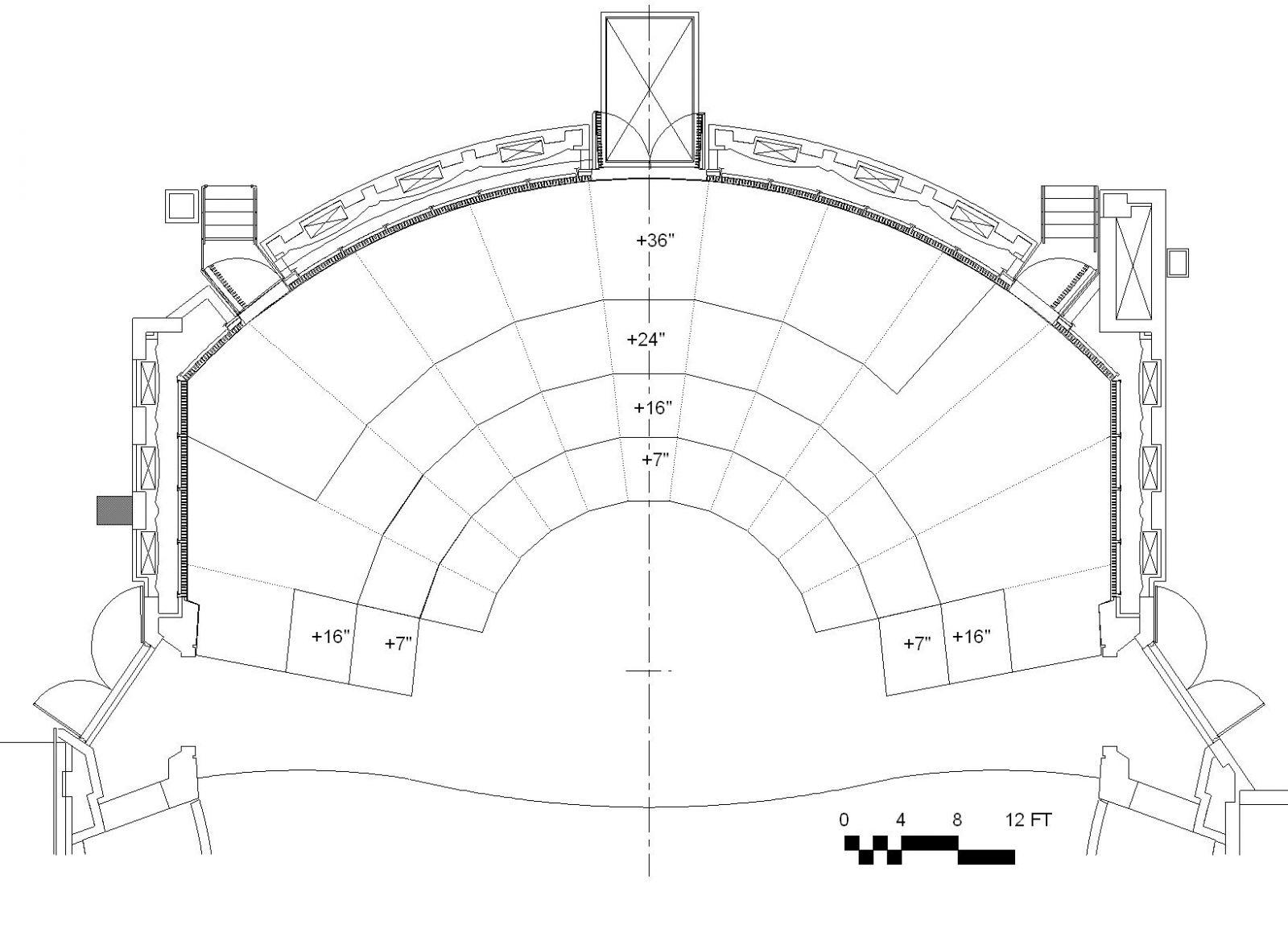 Ground Floor Plans Dekelboum Concert Hall Technical Specifications The