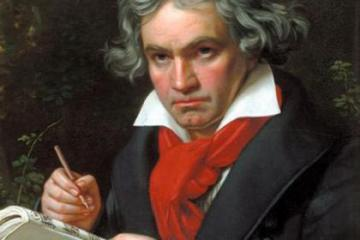 Beethoven graphic.