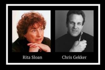 Rita Sloan and Chris Gekker